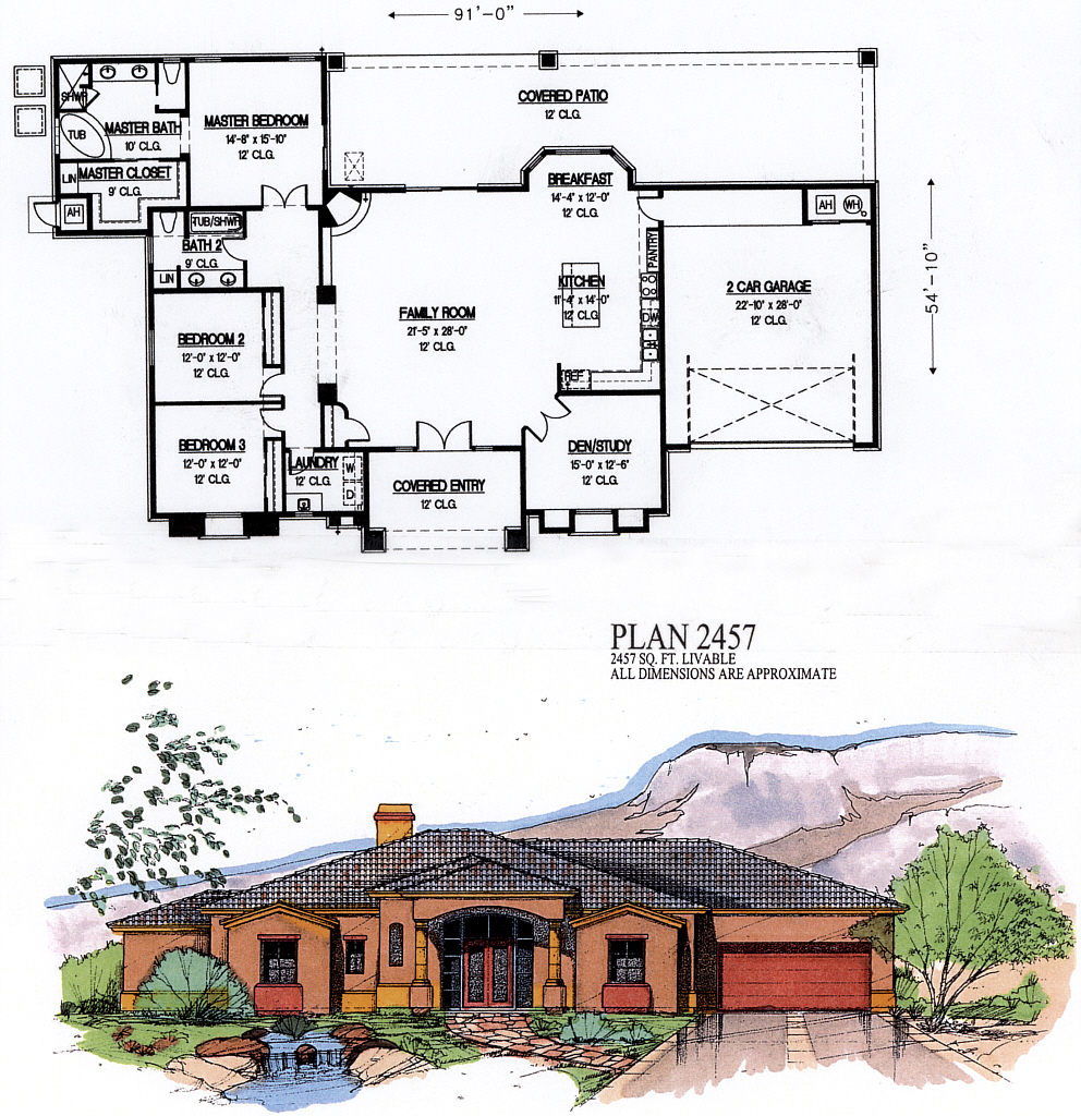 2000 square feet house plans floor plans for Best selling floor plans