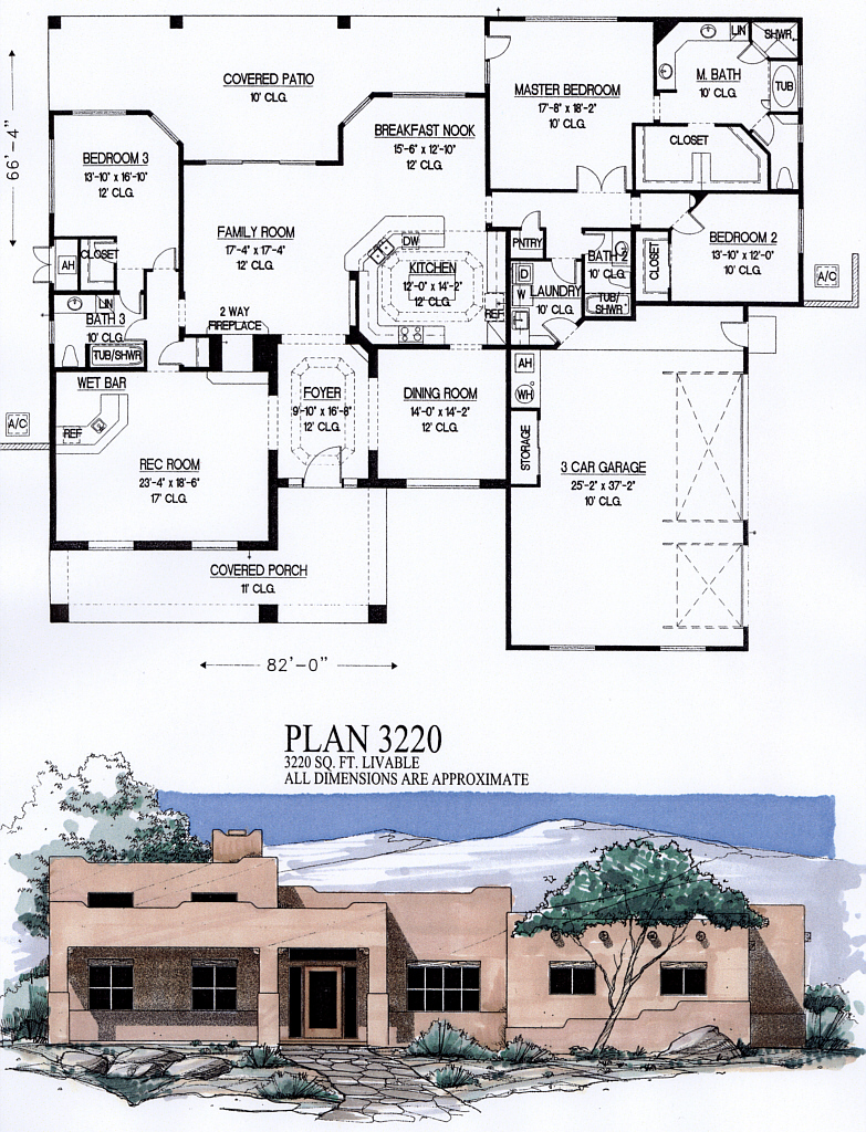 2500 to 3500 square feet for 3500 square feet