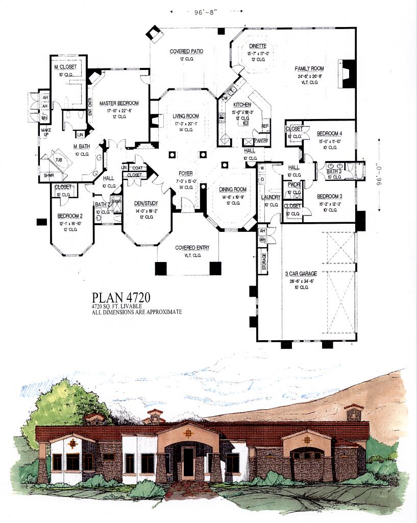 Scottsdale House Plan - 8027 - House Plans | Home Plans | Floor